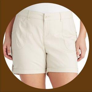 Plus Size GLORIA VANDERBILT Misha Twill Shorts